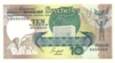 Seychelles - 10 Rupees 1989