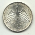 Germania - 10 Mark 1972 J - Olimpiadi